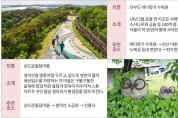 2020 특별 여행주간 숨은관광지 6선(2020년 여름)