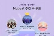 몬스타엑스의 'Follow', 1월 5주차 뮤빗 주간 투표 1위