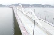 평택호 횡단도로 평택국제대교 1월 22일 개통